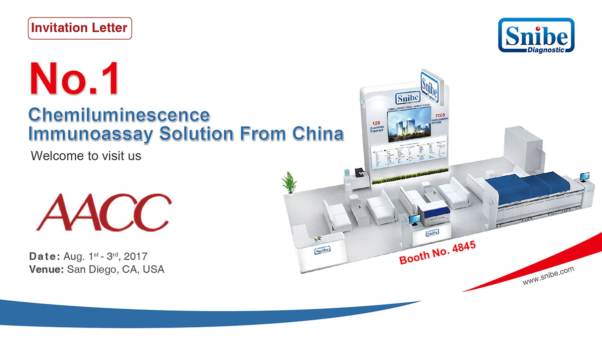 Welcome to visit us at AACC from August 1-3 in San Diego,CA,USA