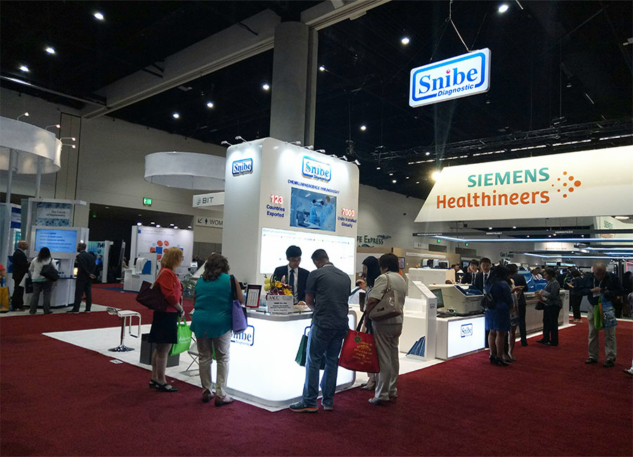 Snibe Products on Display at AACC 2017