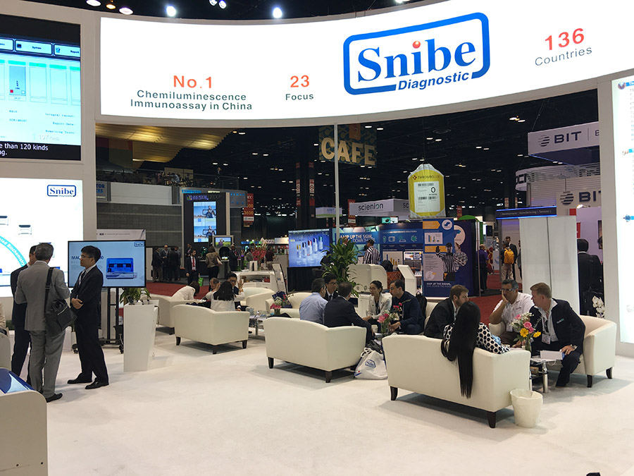 Snibe shines at AACC 2018