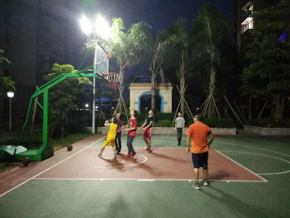 Snibe basketball match