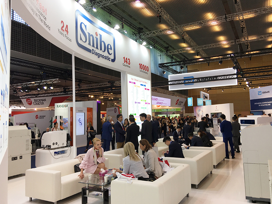 Snibe Shows Great Charms at EuroMedlab 2019 in Barcelona